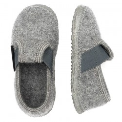 Chaussons laine Turnberg Gris