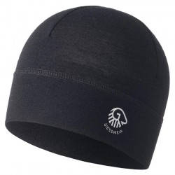 Bonnet laine Mérinos Gamsstein Noir