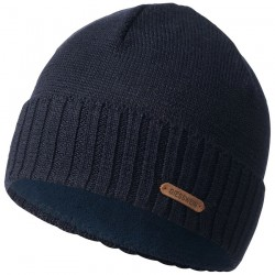 Bonnet laine Mérinos Marine