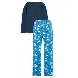 Pyjama coton bio Ours Navy