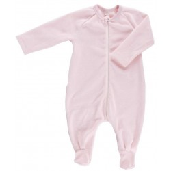 Pyjama coton bio Velours Rose