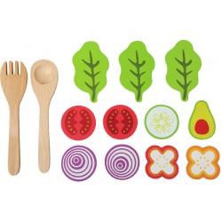 Set de jeu salade