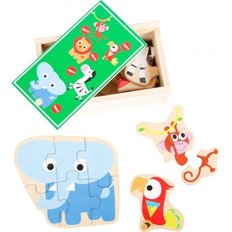 Puzzles bois Zoo