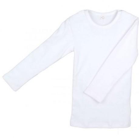 Maillot de corps manches longues coton bio Ecru