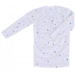 Maillot de corps manches longues coton bio Sparkles