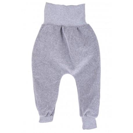 Pantalon coton bio Velours Gris