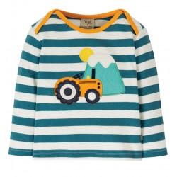 Tee-shirt coton bio Tracteur 3-6 Mois