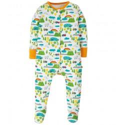Pyjama coton bio Campagne 3-6 Mois