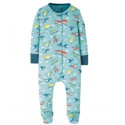 Pyjama coton bio Hélicoptère 3-6 Mois