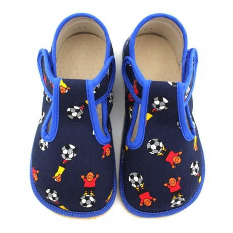 Chaussons souples textile Foot