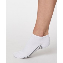 Soquettes bambou Blanc