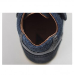 Step up Navy tumble boot