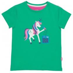 T-shirt coton bio Licorne 3 Ans