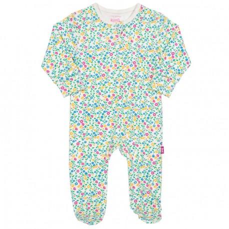 Pyjama coton bio Zip Flower
