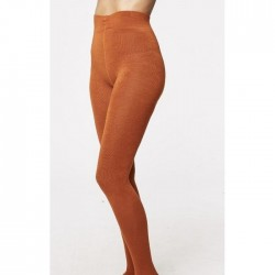 Collants bambou Burnt Orange
