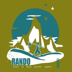 Tee-shirt coton bio Rando