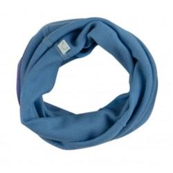 Snood laine Bleu