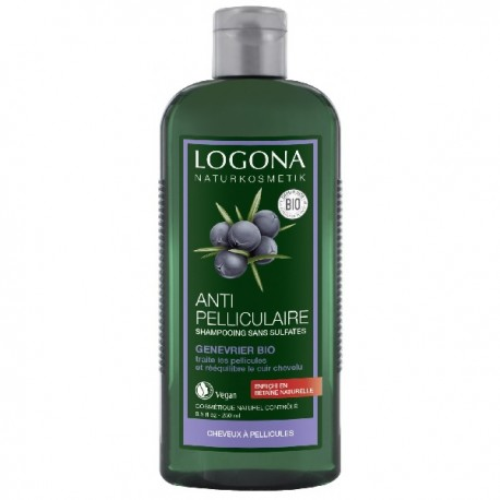 shampoing bio antipelliculaire 250 ml logona