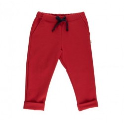 Pantalon coton bio Louis Rouge