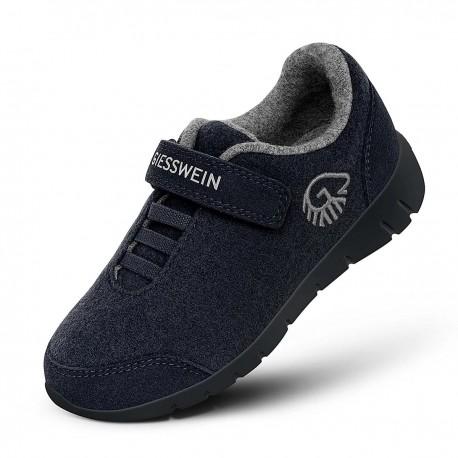 Merino Wool Runner Kids Dark Blau