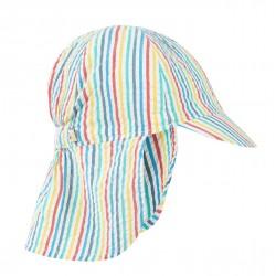 Casquette coton bio Stripe