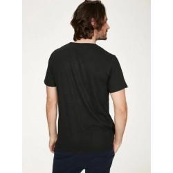 Tee-Shirt chanvre Manuel Noir