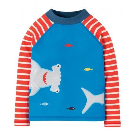 T-shirt anti-uv UVPF 50+ Shark