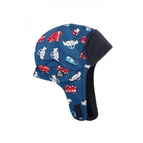Bonnet bleu Frugi