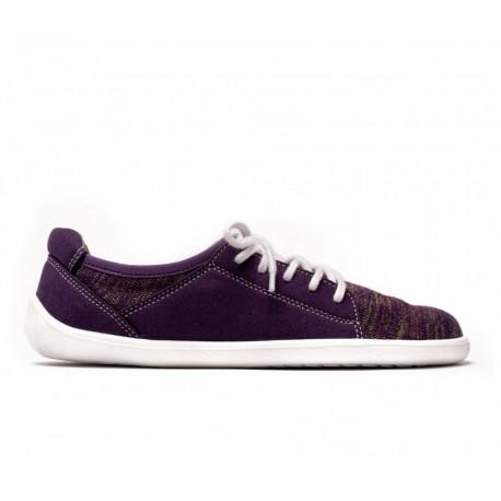 Barefoot Sneakers Ace Purple Vue de Coté