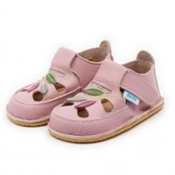 Sandales cuir souples Jardin Féerique