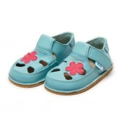 Sandales cuir souples Fleur des Champs