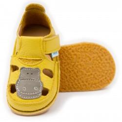Sandales cuir souples Safari