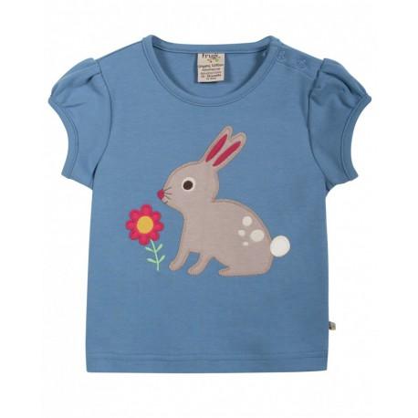 Top Evie le lapin pour bébé fille
