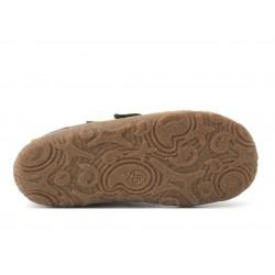 Bottines souples fourrées laine Slim brown