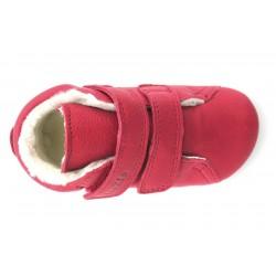 Boots fourrées Prewalkers red