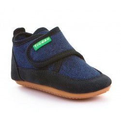 Chaussons souples dark blue