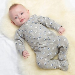 Pyjama coton bio Zip Friends