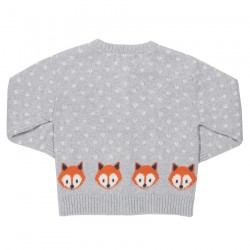 Gilet coton bio Little Fox