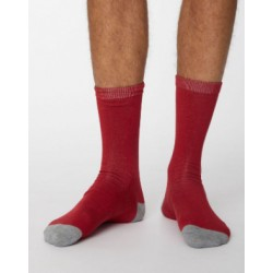 Chaussettes bambou Aubergine