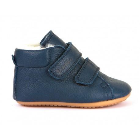 Boots fourrées Prewalkers dark blue
