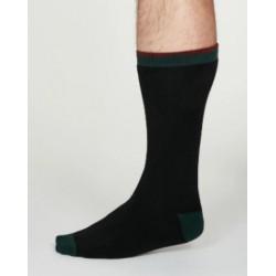 Chaussettes coton noire