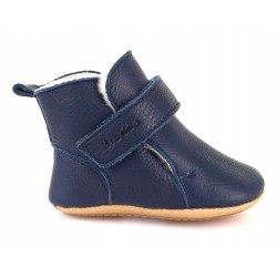 Bottines fourrées Prewalkers dark blue