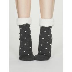 Chaussons-chaussettes Grises