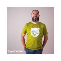 Tee-shirt coton bio La peu de l'ours