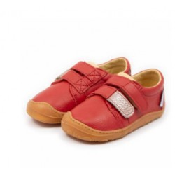 Chaussures souples cuir Noah Ruby