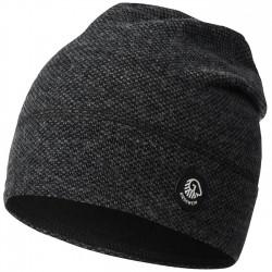 Bonnet laine Mérinos Black