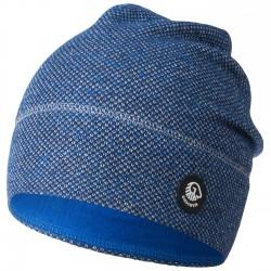 Bonnet laine Mérinos Bleu