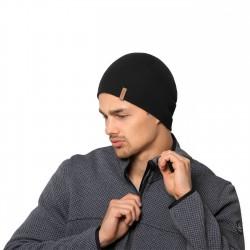 Bonnet laine Merinos Cap Black