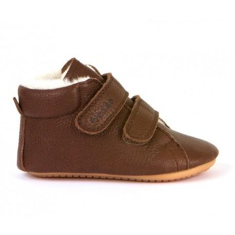 Boots fourrées Prewalkers brown