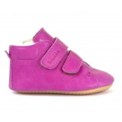 Boots fourrées Prewalkers fuchsia
